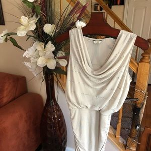 Light grey and silver mini Guess dress!